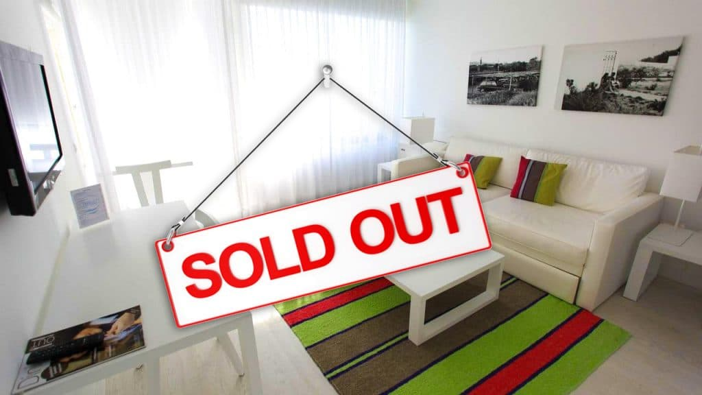 sold out prainha 1 bedroom clube Soul in the Algarve Portugal Soul Weekender