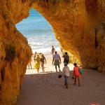 Beach Walk soul in the Algarve Portugal Soul Weekender